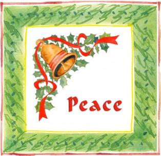 Pt Peace Bell c egbert copy 314x305 Cinnamon Toast for Santas Helpers