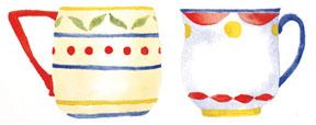 Pt two mugs c egbert Cinnamon Toast for Santas Helpers