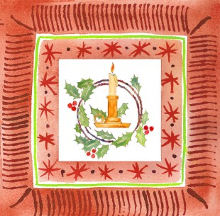 Pto Candle c egbert 310x305 Butter Fruitcake for Holiday Tea