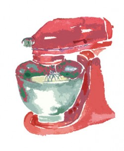Ptu mixer red and green c egbert2 250x305 Butter Fruitcake for Holiday Tea