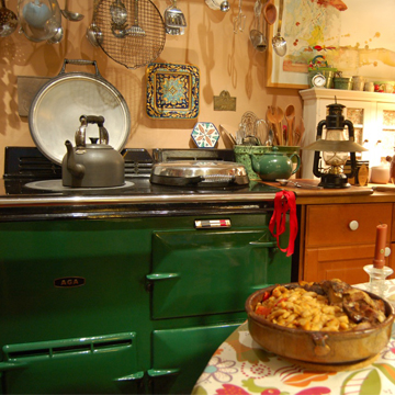 Aga  Aga in the Kitchen   Fabada Beans and an Aga to Weather the Storm