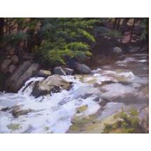 Locust Creek K Fiske Vermont Flood, Friends & Apple Cake
