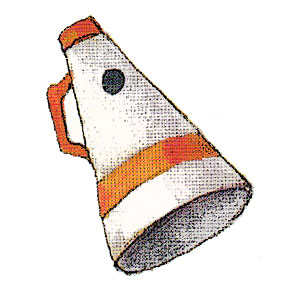 PT Megaphone c egbert Super Snacks for Super Bowl