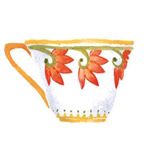 Tea cup c egbert English Scones