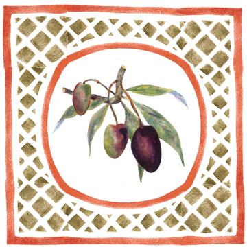olives 01 Caponata   A Sicilian Palate & A Painters Pallet