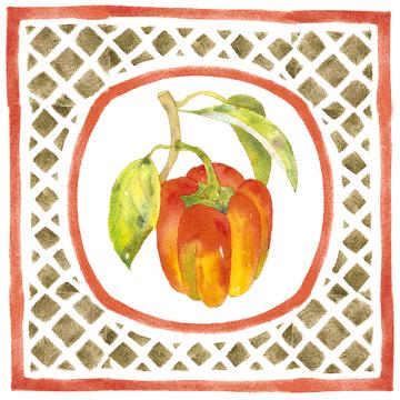 pepper 01 Caponata   A Sicilian Palate & A Painters Pallet