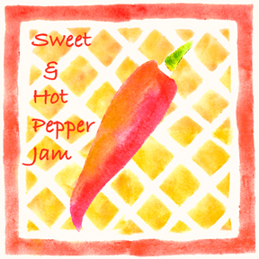 pepper jam Hot and Sweet Pepper Jam