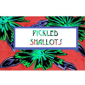 shallot label Shallot Refrigerator Pickles
