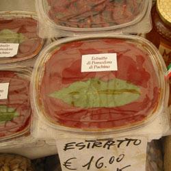 tomato paste ortigia Swordfish   Ortigia Market Dinner