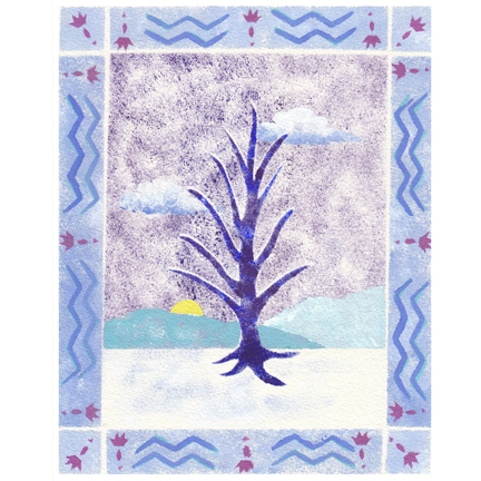 tree winter c egbert 2011 Top Ten List & Free Prints