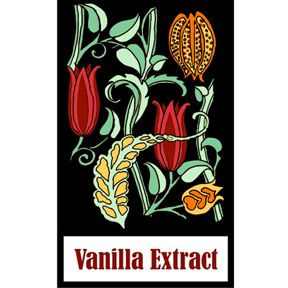 vanilla extract label  Vanilla Extract & Label to Download