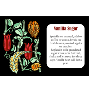 vanilla sugar Vanilla Sugar & Label to Download